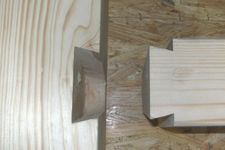 Wood joint dovetail